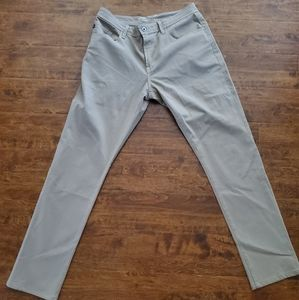 AG MENS TAN JEANS, SOFT SIZE 36/34